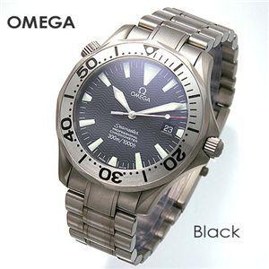 OMEGA(オメガ) 腕時計 シーマスター クロノメーター 300M チタン 2231 2232 ブラック - 拡大画像