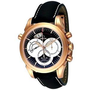 OMEGA(オメガ) メンズ 腕時計 デ・ビル コーアクシャル ラトラパンテ 4648.60.37 - 拡大画像