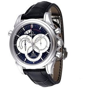 OMEGA(オメガ) メンズ 腕時計 デ・ビル コーアクシャル ラトラパンテ 4847.50.31 - 拡大画像