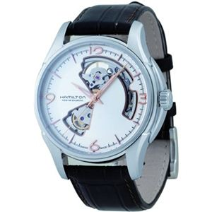 HAMILTON(ハミルトン) レディース 腕時計 ジャズマスターオープンハート H32565555 - 拡大画像