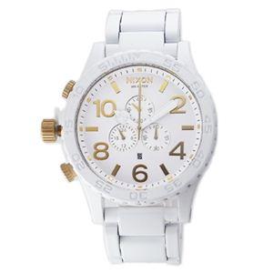 NIXON(ニクソン) メンズ 腕時計 A0831035 ホワイト - 拡大画像