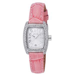 Folli Follie(フォリフォリ) 腕時計 S922ZI SLV/PNK - 拡大画像
