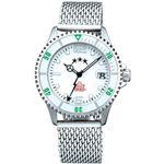 AQUASTAR×ADMIRAL(アクアスター×アドミラル) レディースモデル AQAD201L-WHB 腕時計