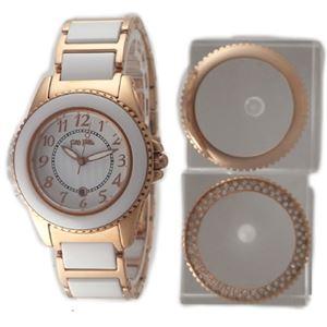 Folli Follie(フォリフォリ) WF1R001BDW 腕時計 レディース - 拡大画像