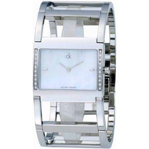 カルバンクライン 腕時計 ドレスホワイトパールK4283.81 - 拡大画像
