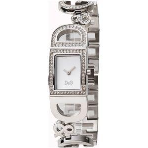 D&G ディーアンドジー 腕時計 シルバーDW0578 - 拡大画像