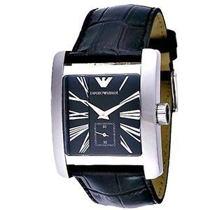 EMPORIO ARMANI エンポリオ・アルマーニ 腕時計 ブラックAR0180 - 拡大画像