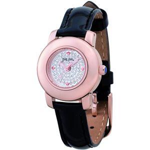 Folli Follie(フォリフォリ)  腕時計 シルバーWF9R021SSS-BLK - 拡大画像