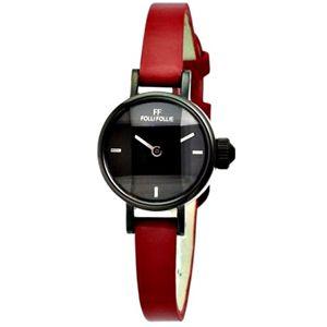 FOLLI FOLLIE フォリフォリ 腕時計 ブラックWF9Y008SPK-RED - 拡大画像