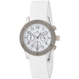 FOLLI FOLLIE フォリフォリ 腕時計 ホワイトWT6T042SEW - 拡大画像