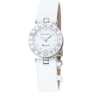 BVLGARI ブルガリ 腕時計 ビーゼロワンホワイトBZ22WSL-M - 拡大画像
