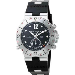 BVLGARI(ブルガリ)  腕時計 ディアゴノブラックSD38SVDGMT - 拡大画像