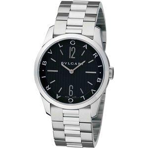 BVLGARI(ブルガリ)  腕時計 ソロテンポブラックST37BSS - 拡大画像