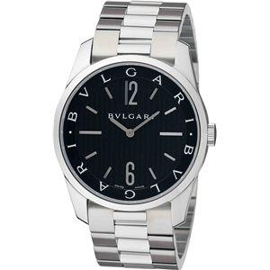 BVLGARI(ブルガリ)  腕時計 ソロテンポブラックST42BSS - 拡大画像