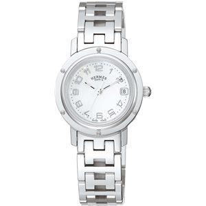 HERMES(エルメス)  腕時計 クリッパーナクレホワイトパールCL4.210.212/3821 - 拡大画像