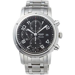HERMES ELLE エルメス 腕時計 クリッパークロノグラフブラックCP1.910.330/3819 - 拡大画像