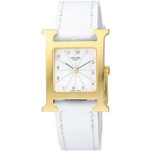 HERMES ELLE エルメス 腕時計 HウォッチホワイトHH1.201.130/UBC - 拡大画像