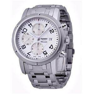 HERMES ELLE エルメス 腕時計 クリッパーホワイトCP1.910.130/3819 - 拡大画像