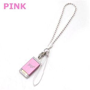 pqi USBメモリーストラップ 4GB BF07-4033(ピンク) - 拡大画像