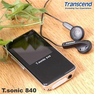 Transcend MP3プレーヤー T.sonic 840 - 拡大画像