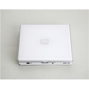 BLUEDOT ポータブルDVDプレーヤー 液晶なしモデル BDP-200W - 拡大画像