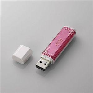 エレコム USBメモリ[LUIRE(ルイーレ)] MF-NWU2A04GPN3 - 拡大画像