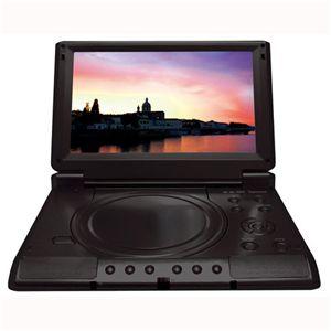 8.5インチCPRM対応 ポータブルDVDプレイヤー DS-PP85EC101 ブラック - 拡大画像