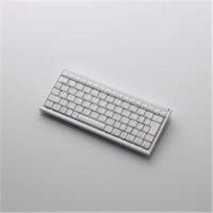 ELECOM(エレコム) Bluetooth(R)2.0対応コンパクトワイヤレスフルキーボード TK-FBP013WH - 拡大画像