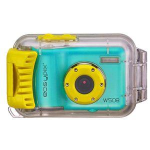 Easypix(イージーピックス) 防水ハウジング装備 500万画素デジタルカメラ Starfish(スターフィッシュ) W508-BLU - 拡大画像