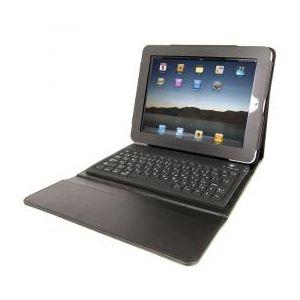 サンコー 【無線式キーボード内蔵iPad革ケース】BluetoothキーボードとiPad専用革ケースのセット商品! CWKFIP01 - 拡大画像