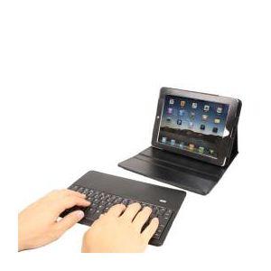 サンコー 着脱式無線キーボード内蔵iPad2対応革ケース CWKFIP06 - 拡大画像