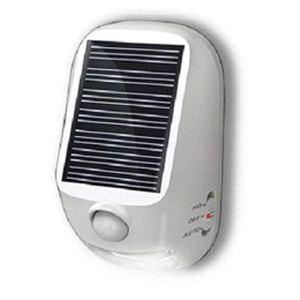 YAZAWA(ヤザワ) 屋外用ソーラー式LEDセンサーライト NL57WH - 拡大画像
