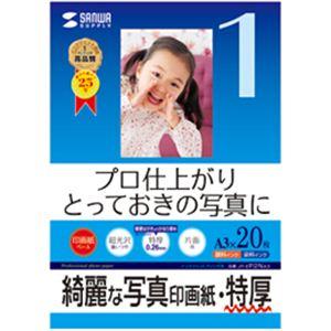 サンワサプライ インクジェット写真印画紙・特厚 JP-EP2NA3 - 拡大画像