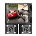 【車載用防犯カメラ】ルックイースト デュアルレンズ ドライブレコーダー LE-DCR02