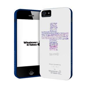 princeton iPhone 5用プレミアムジェルシェルケース (Coldplay/ホワイト) WAS-IP5-GCP04 - 拡大画像
