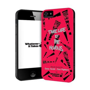 princeton iPhone 5用プレミアムジェルシェルケース (Dave Grohl - Foo Fighters WAS-IP5-GDG01 - 拡大画像