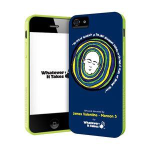 princeton iPhone 5用プレミアムジェルシェルケース (James Valentine - Maroon 5) WAS-IP5-GJV01 - 拡大画像