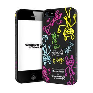 princeton iPhone 5用プレミアムジェルシェルケース (Kanye West) WAS-IP5-GKW02 - 拡大画像