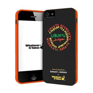 princeton iPhone 5用プレミアムジェルシェルケース (Samuel L Jackson) WAS-IP5-GSJ01 - 拡大画像