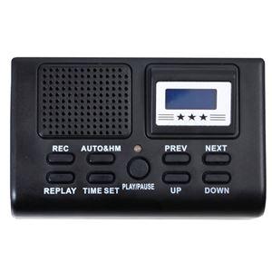 サンコー 電話機に後付けできる通話録音再生機「通話自動録音BOX」 TLPRC38B - 拡大画像