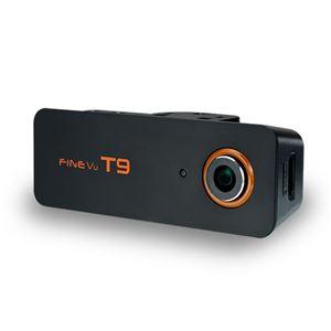【車載用防犯カメラ】INBYTE 前後2カメラ式ドライブレコーダー FineVu T9 - 拡大画像