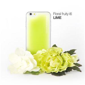 セブンシーズ・パスタ iPhone6用香り付き保護ケース Aroma(アロマ) case Floral fruity Lime ACFL - 拡大画像