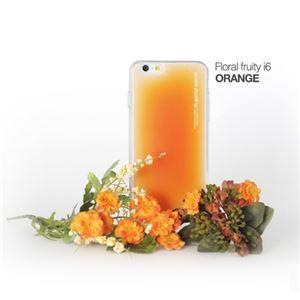 セブンシーズ・パスタ iPhone6用香り付き保護ケース Aroma(アロマ) case Floral fruity Orange ACFO - 拡大画像