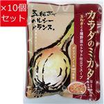 【10個セット】 新宿中村屋 カラダのミカタ 玉ねぎと6種野菜のトマト仕立てスープ 200g