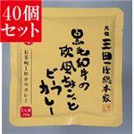 【40個セット】 三田屋総本家 黒毛和牛の欧風 ちょこっとビーフカレー