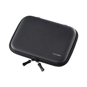 (まとめ)サンワサプライ セミハード電子辞書ケース(ブラック) PDA-EDC31BK【×3セット】 - 拡大画像