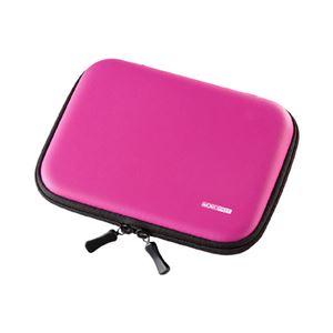 (まとめ)サンワサプライ セミハード電子辞書ケース(ピンク) PDA-EDC31P【×3セット】 - 拡大画像