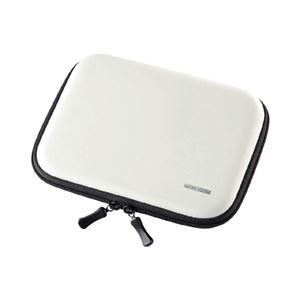 (まとめ)サンワサプライ セミハード電子辞書ケース(ホワイト) PDA-EDC31W【×3セット】 - 拡大画像