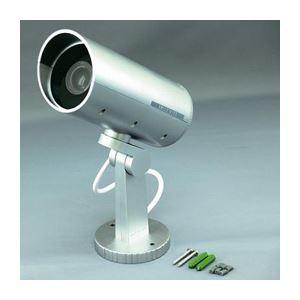 (まとめ)スマイルキッズ 防雨ダミーカメラ ADC205【×2セット】 - 拡大画像