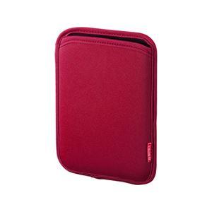 (まとめ)サンワサプライ スリップインケース(電子書籍) PDA-TABS6R【×3セット】